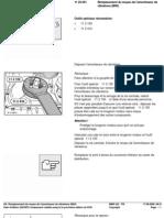 RA Rem Placement Du Moyeu de l'Amortisseur de Vibrations (M43)