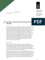 Riksbank Statement