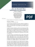 El Libro de Mormón Otro testamento de Jesucristo - Maxwell Institute Foreign Language Documents