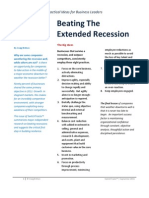 Research Summary - Beating an Extended Recession - Switch Tracks Oct 2011
