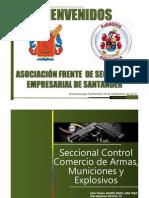 Control de Armas de Fuego Indumil Colombia
