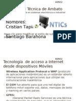 Tecnoligías Para el acceso a internnet