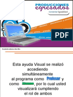 Manual de uso del Programa elearning class teacher