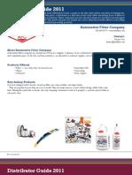 Fast Lube Distributors Guide - 2011