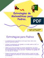Estrategias de Matemáticas para Padres