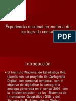 cia Nacional en Materia de Cartografia Censal