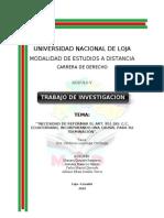 Proyecto de Reforma Del Art. 851 Cc-10!01!2011