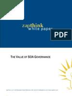 Value So a Governance SoftwareAG 062007 WP 0155 1