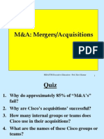 M & a Failure Reasons