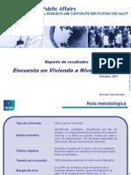 Encuesta Nacional Rumbo Al 2012