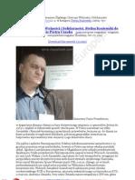 Sląskie Centrum Wolności i Solidarności 20111027 Stefan Kosiewski Do Prezydenta Katowic Piotra Uszoka