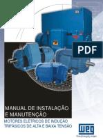 Weg Instalacao e Manutencao Motores Eletricos Trifasicos de Alta e Baixa Tensao
