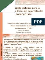 Presenta Visita Del Vive-Presidente Del SP