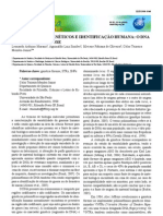 Polimorfismos genéticos e identificação humana - O DNA como prova forense