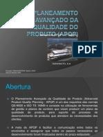 Formação_Planeamento avançado da qualidade do produto