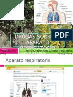 Drogas Sobre El Aparato Respiratorio