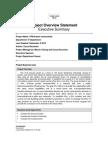 PRIMAVERA Project Overview Statement