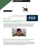 Chávez lucha por estar lúcido