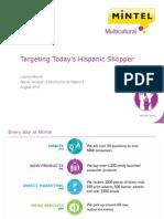 Targeting Today's Hispanic Shopper