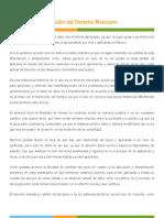 importancia derecho mexicano