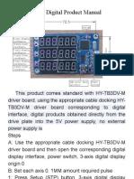3-Axis Digital Product Manual