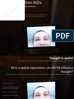 ConVR2011 Presentation on augmented reality, thought and cognition