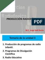 PRODUCCIÓN RADIOFÓNICA 1
