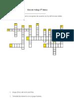 Guía de trabajo 3º básico.abril 2011