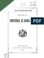 Documentos Relativos a La Confer en CIA de Buenos Aires. (1899)