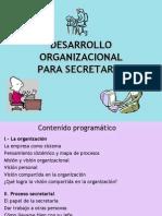 Desarrolo Organizacional Para Secretarias[1].