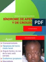 Síndrome de apert y de crouzon