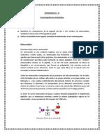 Experimento # 13 Cromatografia de Aminoacidos