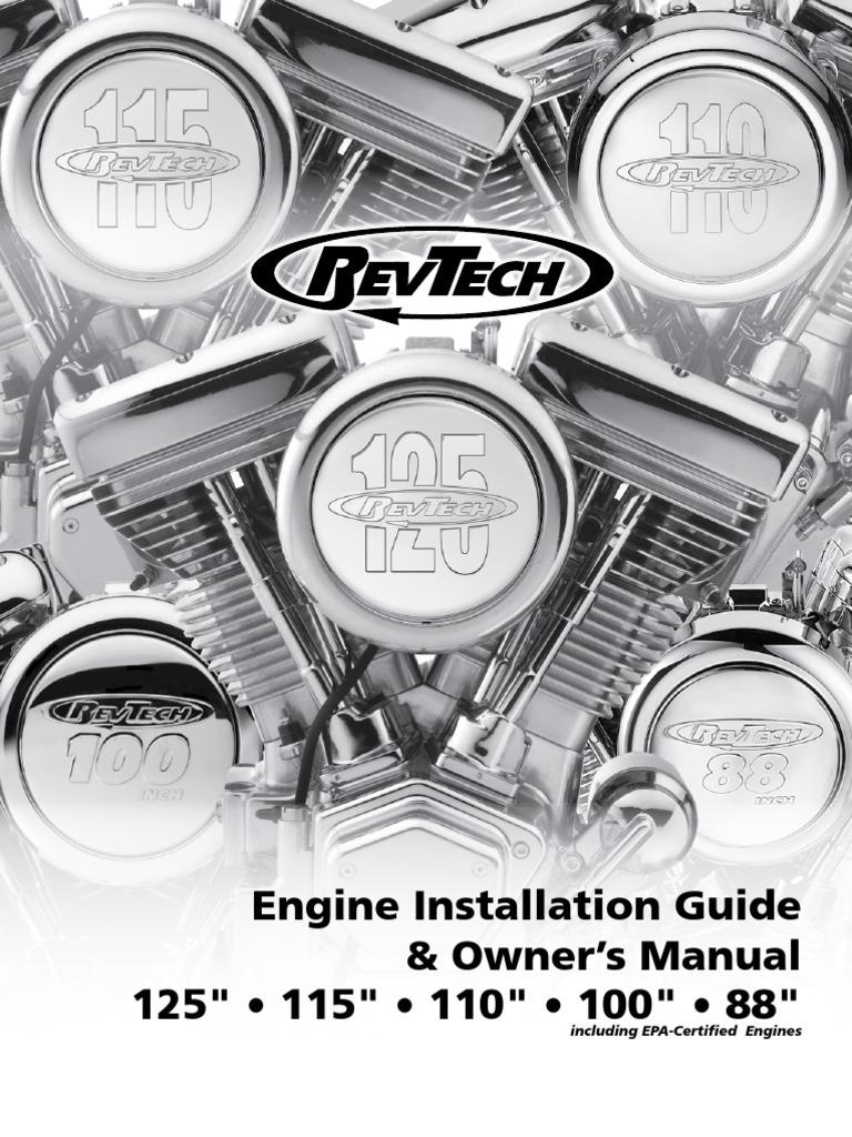 revtech engine installation guide 2 transmission mechanics rh es scribd com Tecumseh Engine Ignition Wiring Diagram Simple Chopper Wiring Diagram Ignition