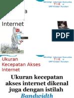 KD 1.3 Ukuran Kecepatan Akses Internet