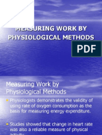 Measurement of Work by Phsiollogical