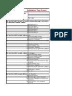 Reusable Test Case - Validation 1