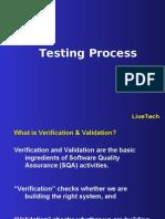 Testing Process