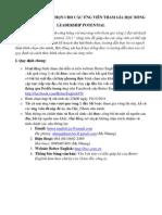 Hướng dẫn bình chọn Ứng viên Vòng 2 - LeaderShip Potential