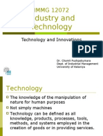 Technology and Innovation-2006 Ind