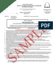 Sample Permit