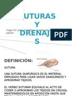 SUTURAS Y DRRENAJES