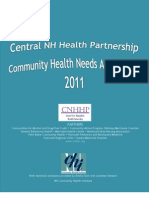 Central New Hampshire Health Partnership Community Health Needs Assessment 2011