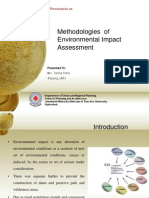 Methodologies of Environmental Impact Assessment