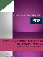 Composition Population Forecasting Models, Migration Models