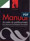 11. Manual de Estilo de Publicaciones de La APA - LitArt