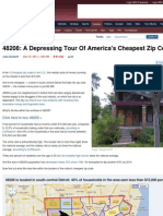 A Depressing Tour of America's Cheapest Zip Code.