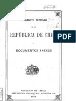 Reglamento consular de la República de Chile y documentos anexos. (1892)