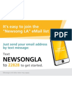 Stay in the loop. Join the Newsong LA eMail list!