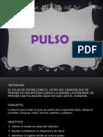 Presentación1 PULSO Y RESPIRACIÓN