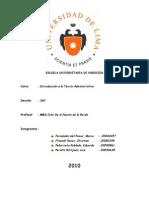 Investigación sobre Fundamentos de la Administración aplicado al Banco Interbank - Perú